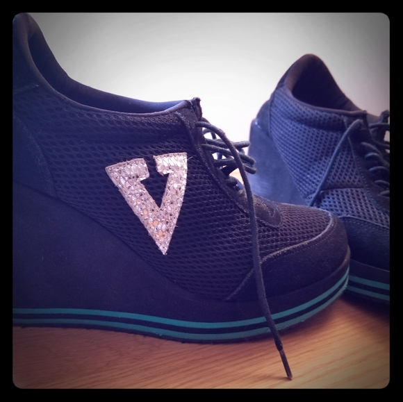 Volatile Shoes - Wedge Sneakers!